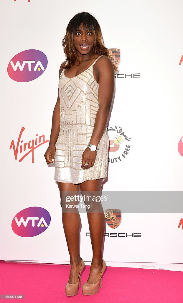 Sloane Stephens attends the WTA Pre-Wimbledon party at Kensington Roof Gardens on June 19, 2014 in London, England.