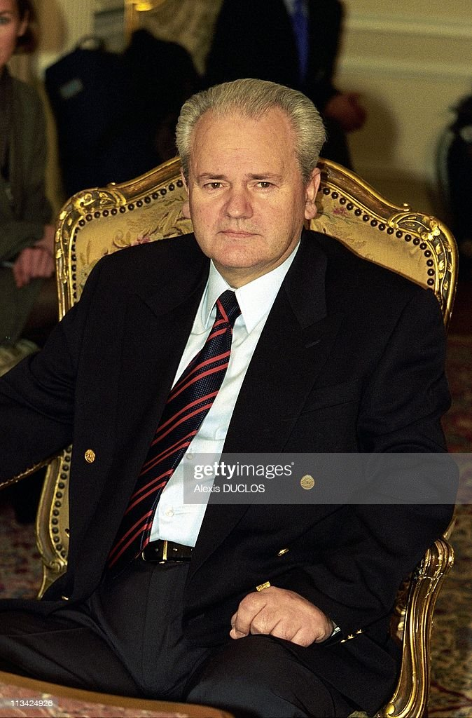<a gi-track='captionPersonalityLinkClicked' href=/galleries/search?phrase=Slobodan+Milosevic&family=editorial&specificpeople=206908 ng-click='$event.stopPropagation()'>Slobodan Milosevic</a> On March 19th, 1998 - In Yugoslavia