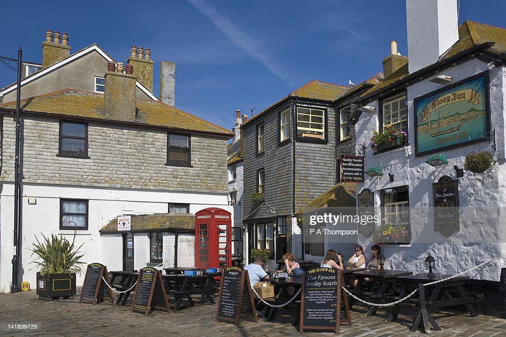 Sloop Inn, St Ives, Cornwall, England : Stock Photo