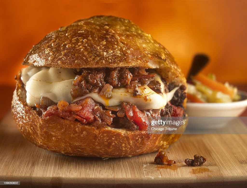 Sloppy Giuseppe offers an Italian twist to a dinner favorite of sloppy Joes.