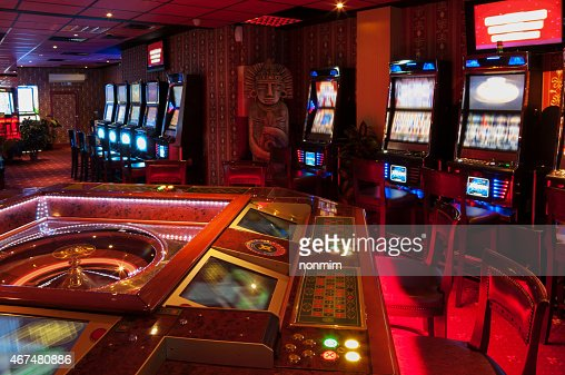 Slot Machine and Roulette : Stock Photo