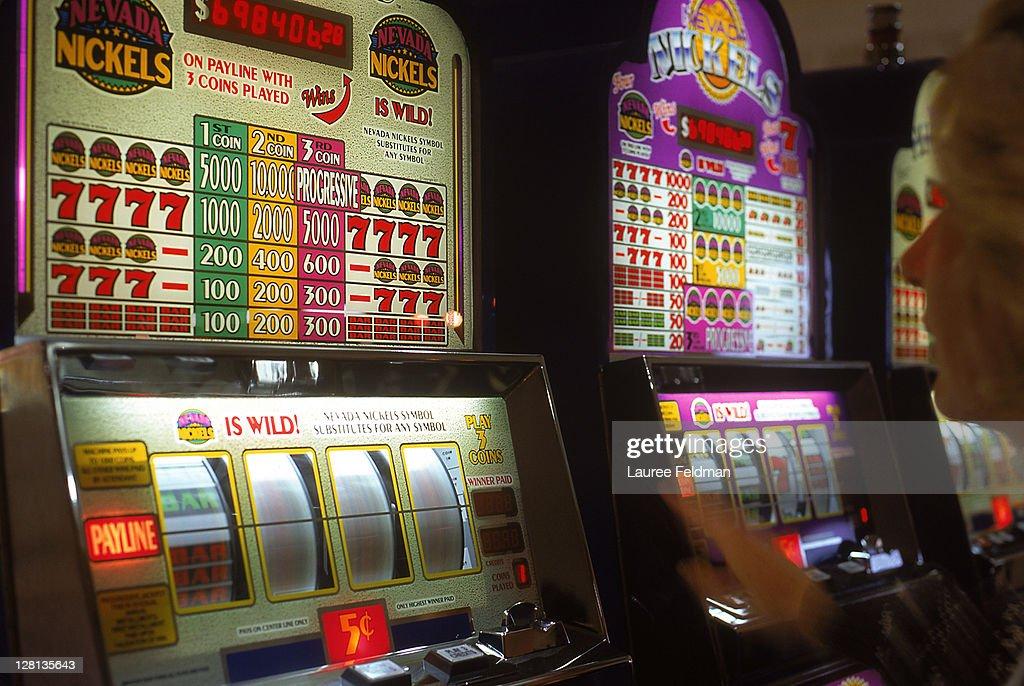 Slot Machine, Reno, NV : Stock Photo