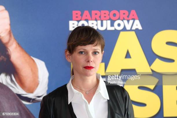 Slovak actress naturalized Italian Barbora Bobulova during photocall of italian movie 'Lasciami per Sempre' directed by Simona Izzo