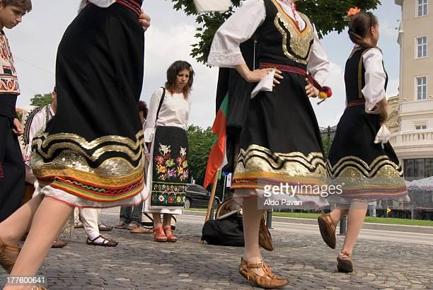 Slovakia, Bratislava, folk festival