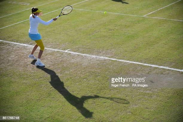 Slovakia's Daniele Hantuchova during her semi final against USA's Alison Riscke during the AEGON Classic at Edgbaston Priory Birmingham