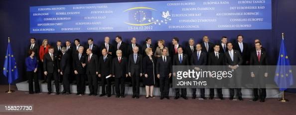 Slovenian President Danilo Turk Lithuanian President Dalia Grybauskaite Italian Prime Minister Mario Monti Irish Prime Minister Enda Kenny European...