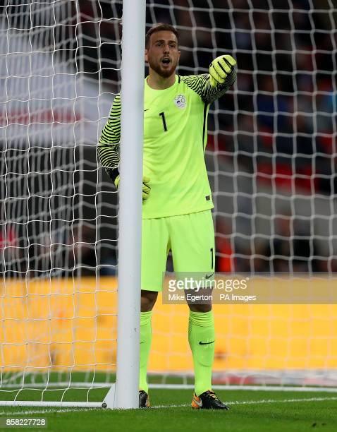 Slovenia's goalkeeper Jan Oblak
