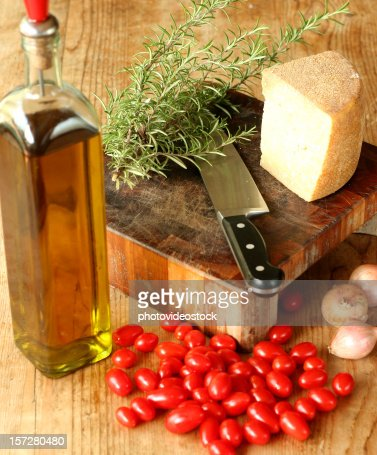 Slow food, Italian and mediterranean diet.