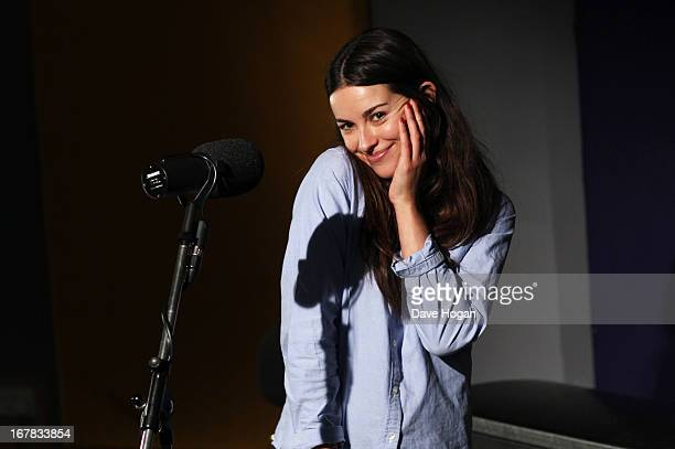 Slow Moving Millie aka Amelia Warner performs for a Biz Session on December 14 2011 in London England
