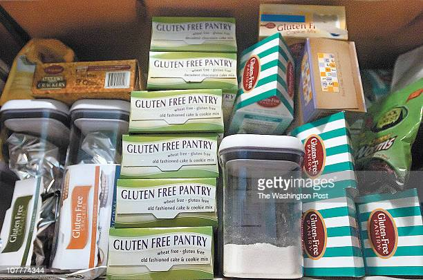 Glutfree2_e1001 Reid Silverman/The Enterprise Teresa Andrasik's pantry is filled with glutenfree food products The Mechanicsville woman suffers from...