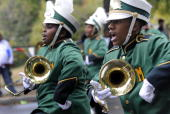 phhoward DATEOctober 24 2009 CREDIT Mark Gail/TWP Washington DC ASSIGNMENT#210361 EDITED BYmg Members of the Milford Mill high school marching band...