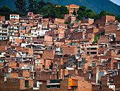 Slum in Medellin, Colombia