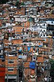 Slum in Rio de Janeiro, Brazil