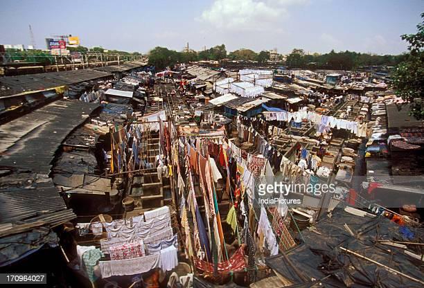 Slums Mumbai Maharashtra India
