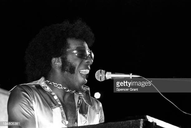 Sly Stone performs at Harvard Stadium Brighton Boston Massachusetts 1969