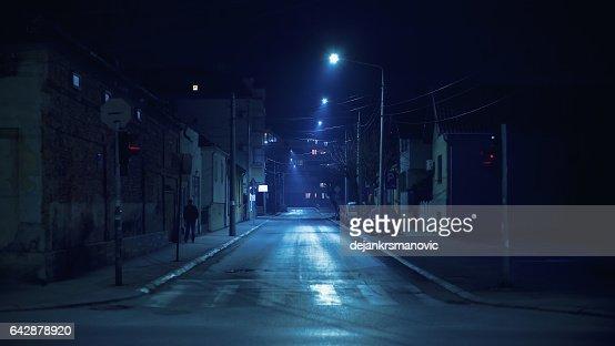Small Balkan Town Street : Stock Photo