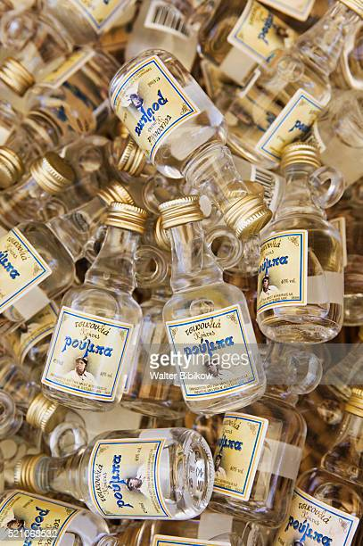 Small Bottles of Kritsa Ouzo