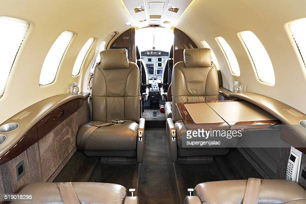 Small business jet interior