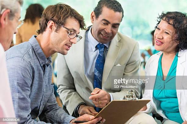 Kleine business Meetings