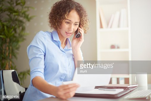 small business owner queries a bill