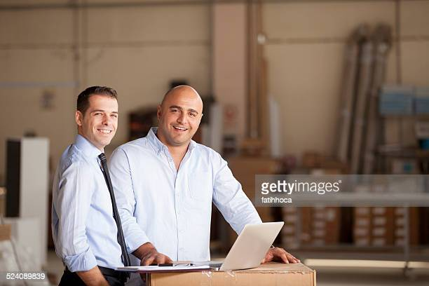 Small Businessman and Financial Advisor