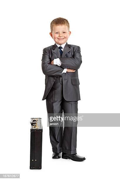 Kleine Geschäftsmann