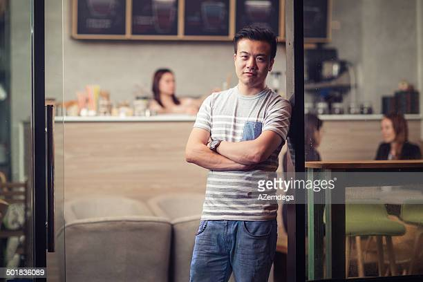 Small cafe owner