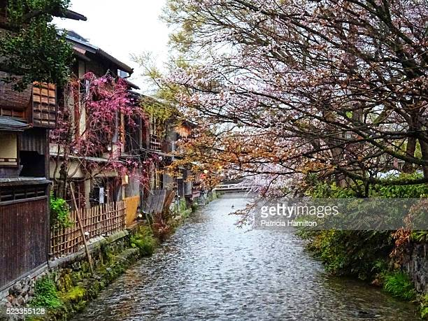 Small canal in the Gion district, Kyoto