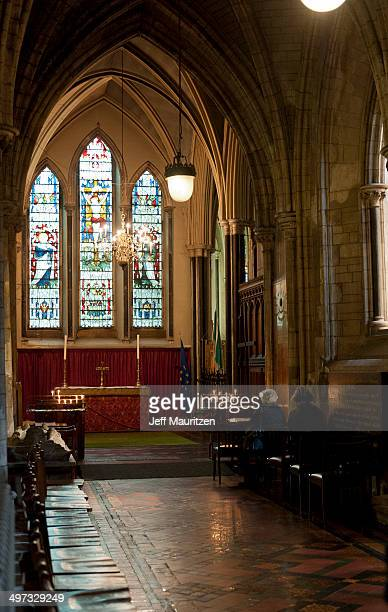 A small chapel in St. Patrick's Cathedral.