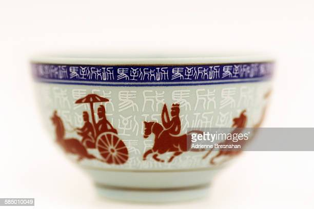 Small Chinese Painted Bowl
