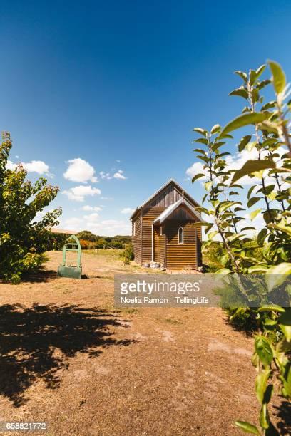 A small church in a farm in Victoria, Australia