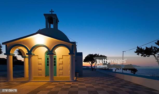 Piccola chiesa in Grecia