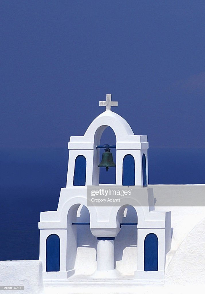 A Small Church in Oia, Greece