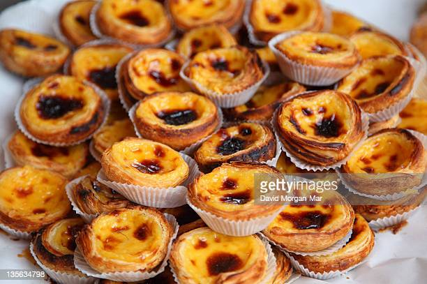 Small custard tarts