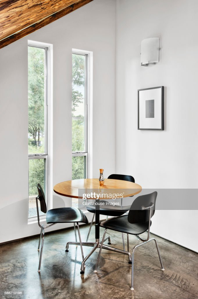 Small Dining Table in Modern House