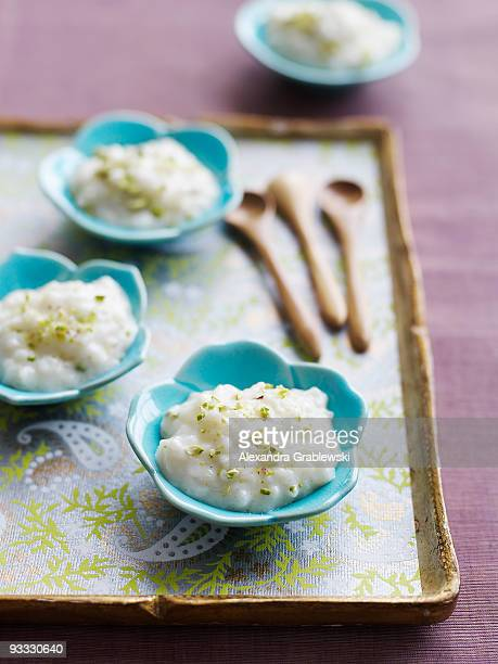 Small Dishes of Rice Pudding