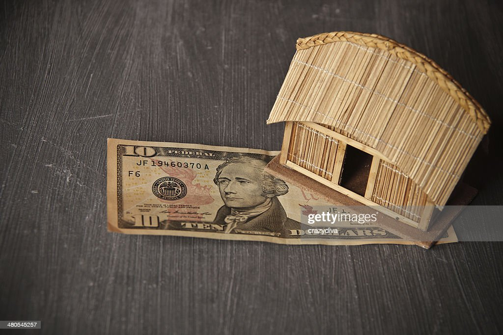 Small Eco friendly low cost home display : Stock Photo