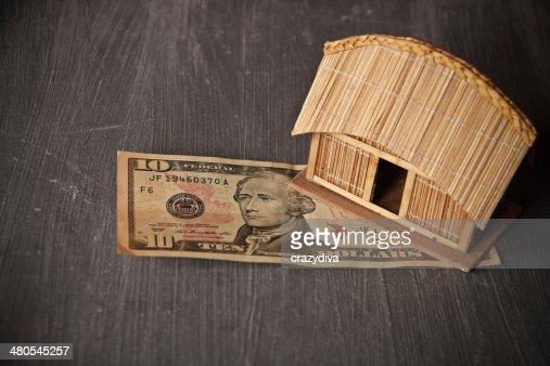 Small ecocompatibile a basso costo schermo home : Foto stock