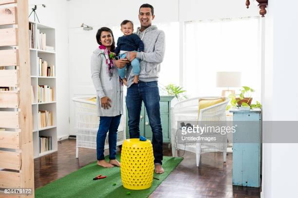 Small family portrait
