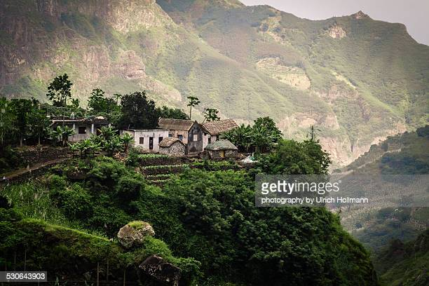 Small Farm in Paul Valley, Santo Antao, Cape Verde