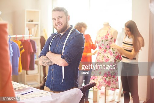 small fashion business owner