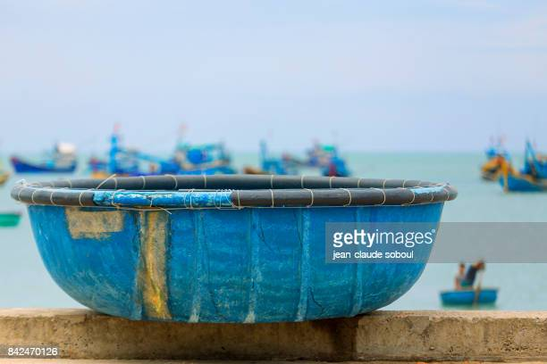 small fishing boat in Bình Thuận province (vietnam)