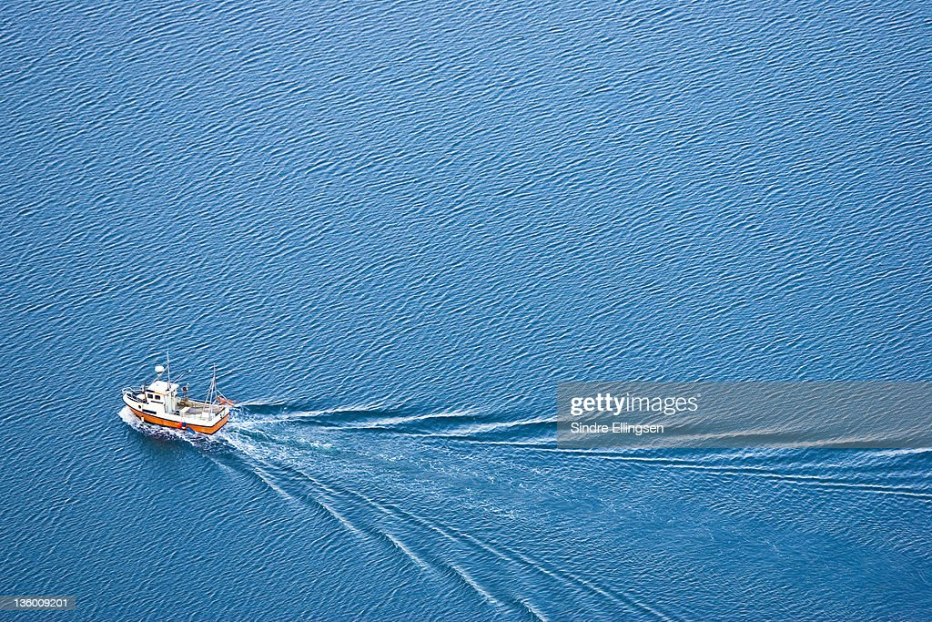 Small fishing boat : Stock Photo