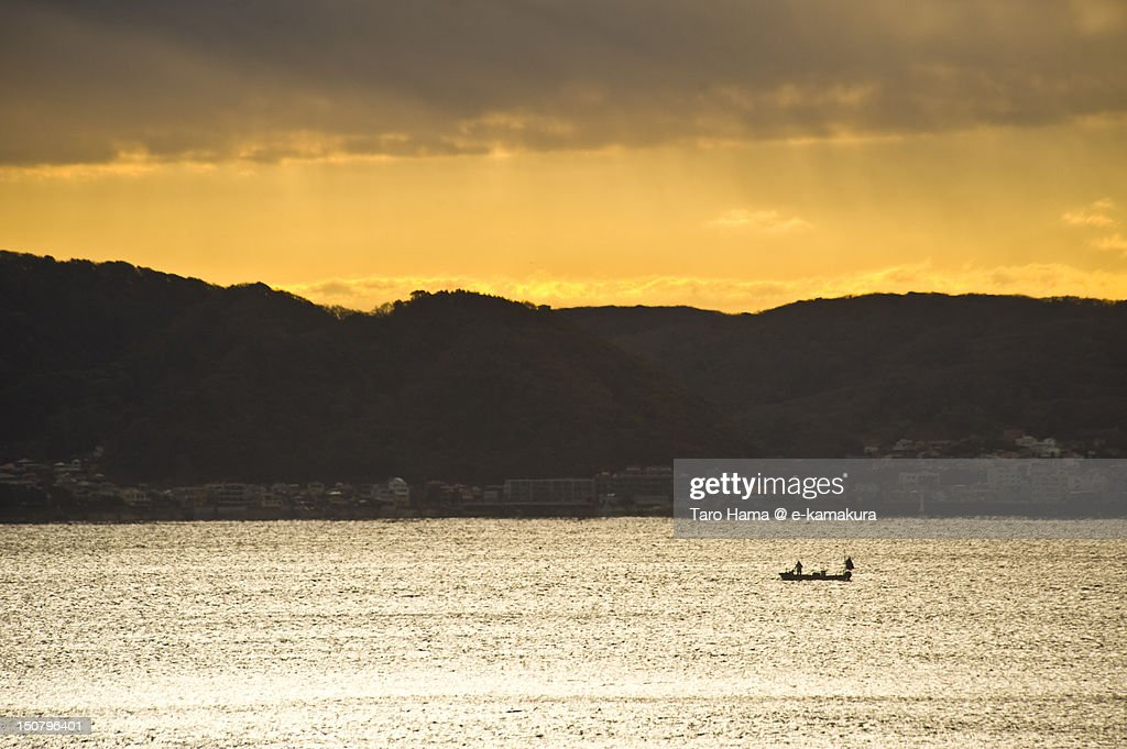 Small fishing boat : Stock Photo