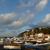 Small fishing village  of  Marina di Seiano