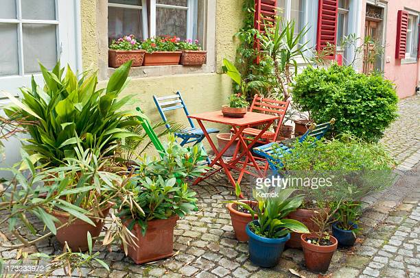 Small front garden in Germany