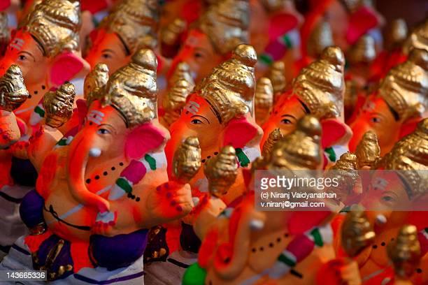 Small Ganesha idols