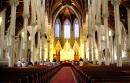 A small group of parishioners attends Sunday mass at The Cathedral of the Holy Cross August 24 2003 in Boston Massachusetts Defrocked and imprisoned...