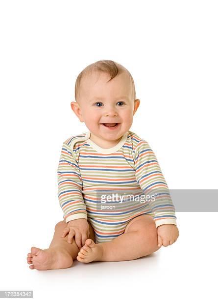 Heureux petit enfant