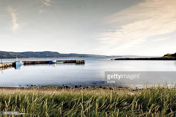 Small  harbour in Chéticamp, Cape Breton Island,Nova Scotia,Canada